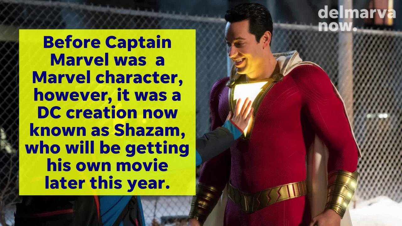 Captain Marvel and Shazam will each get their own movies this year, but the characters have long been intertwined in the comic book universe.