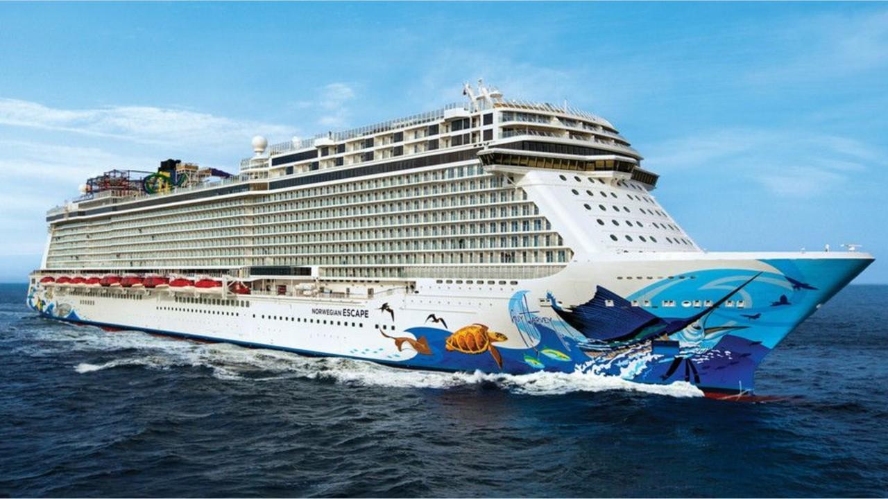 Norwegian cruise ship suddenly lists