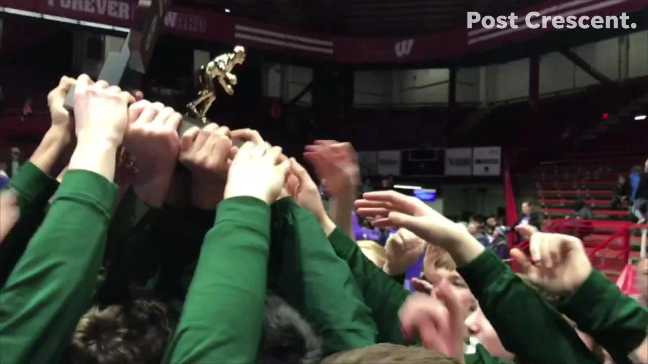 Freedom beat Ellsworth to win the WIAA D2 state wrestling title in Madison this past Saturday