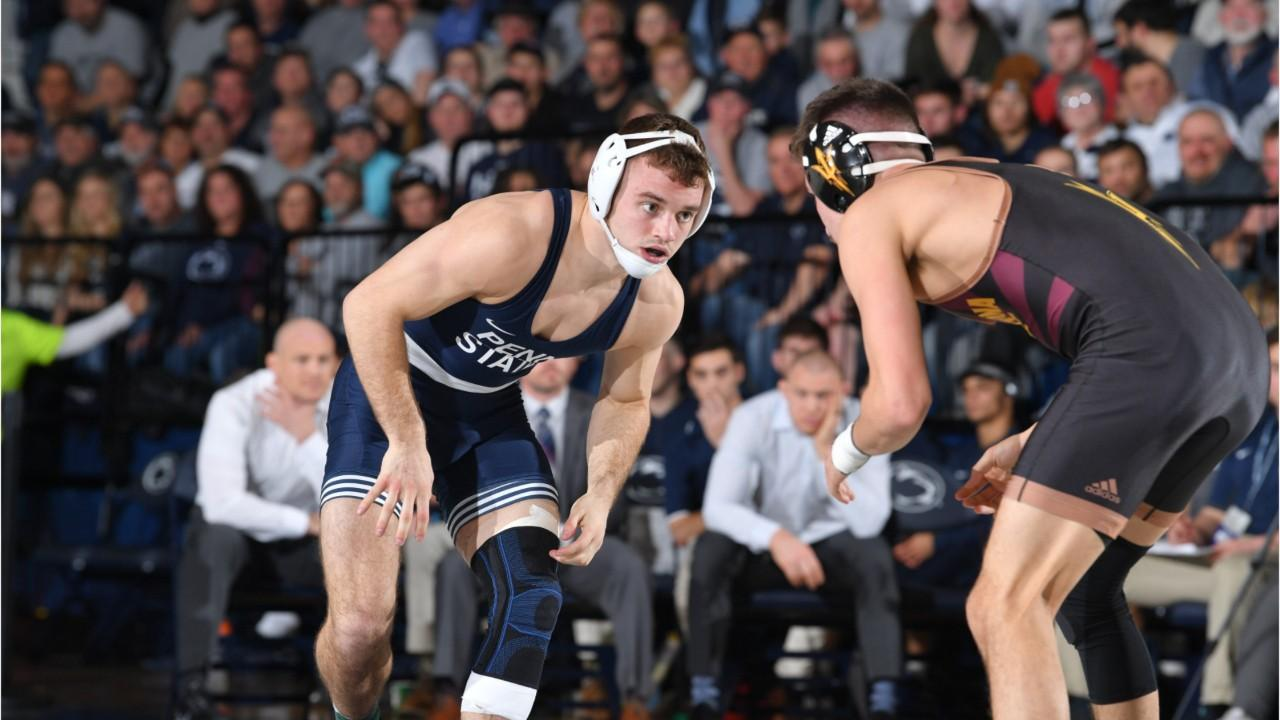 Coach Cael Sanderson's Nittany Lions are favored to the in the Big Ten Championships and then another NCAA title. Could they set an NCAA scoring record, too?