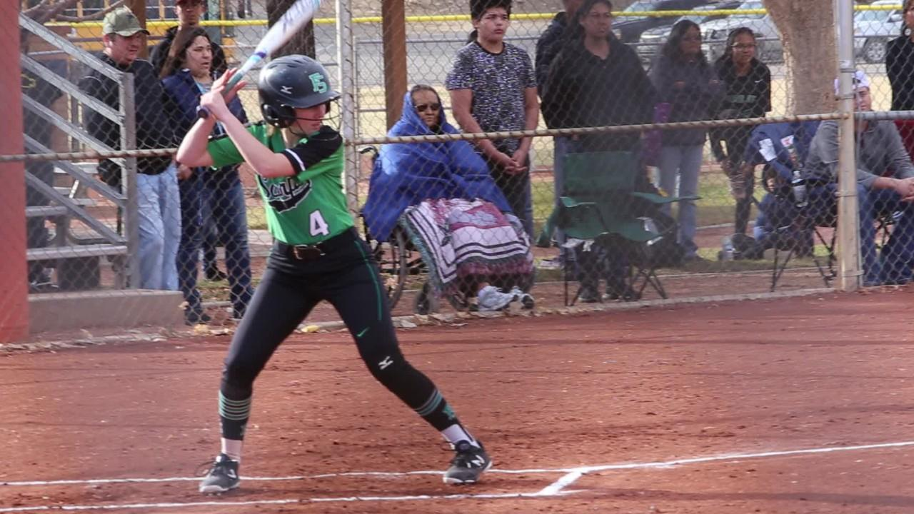 Lady Scorpions hit mulitple line drives en route to a 12-1 victory in 5 innings Tuesday at Ricketts Softball Complex.