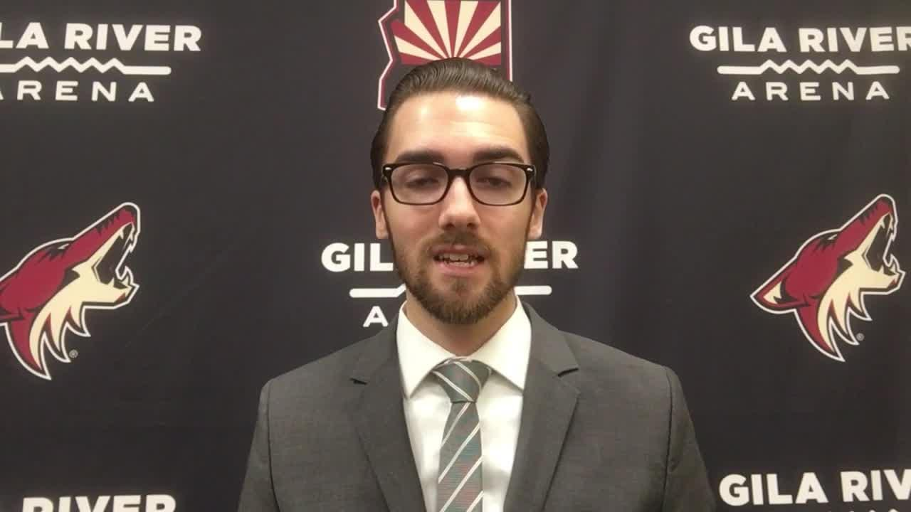 Richard Morin breaks down the Coyotes' 3-1 loss to the Ducks on Tuesday.