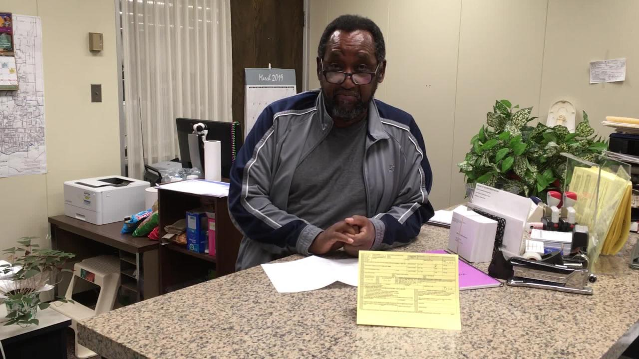 Vandeburgh County Voter Registration Office Co-Director Tony Bushrod explains what voters need to know to register for 2019 city elections.