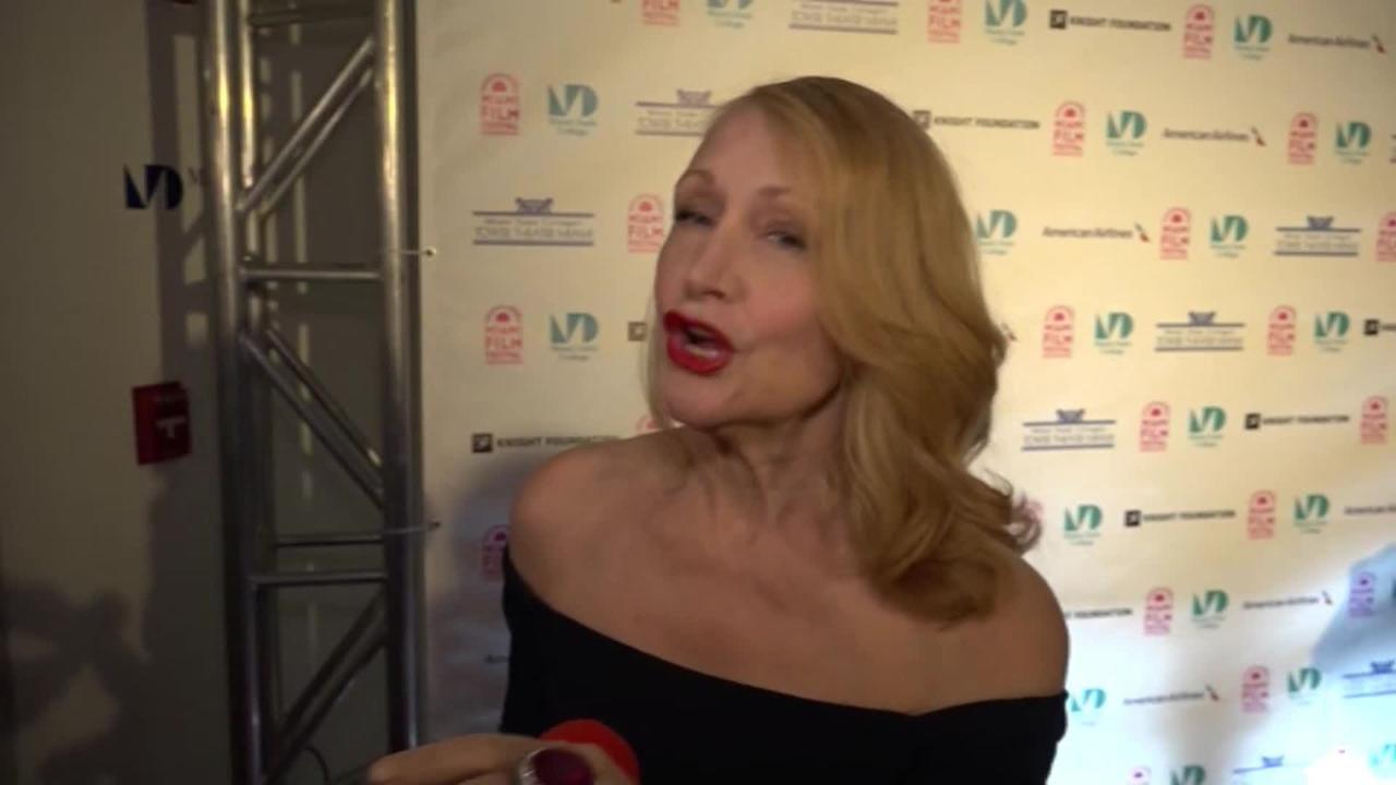Patricia Clarkson, recibió por su carrera de más de 30 años el premio Precious Gem del Festival Internacional de Cine de Miami.