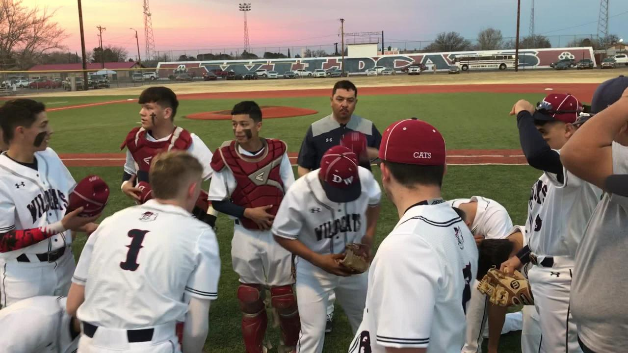 Deming High Wildcats silence Colts' bats in 10-0 shutout victory