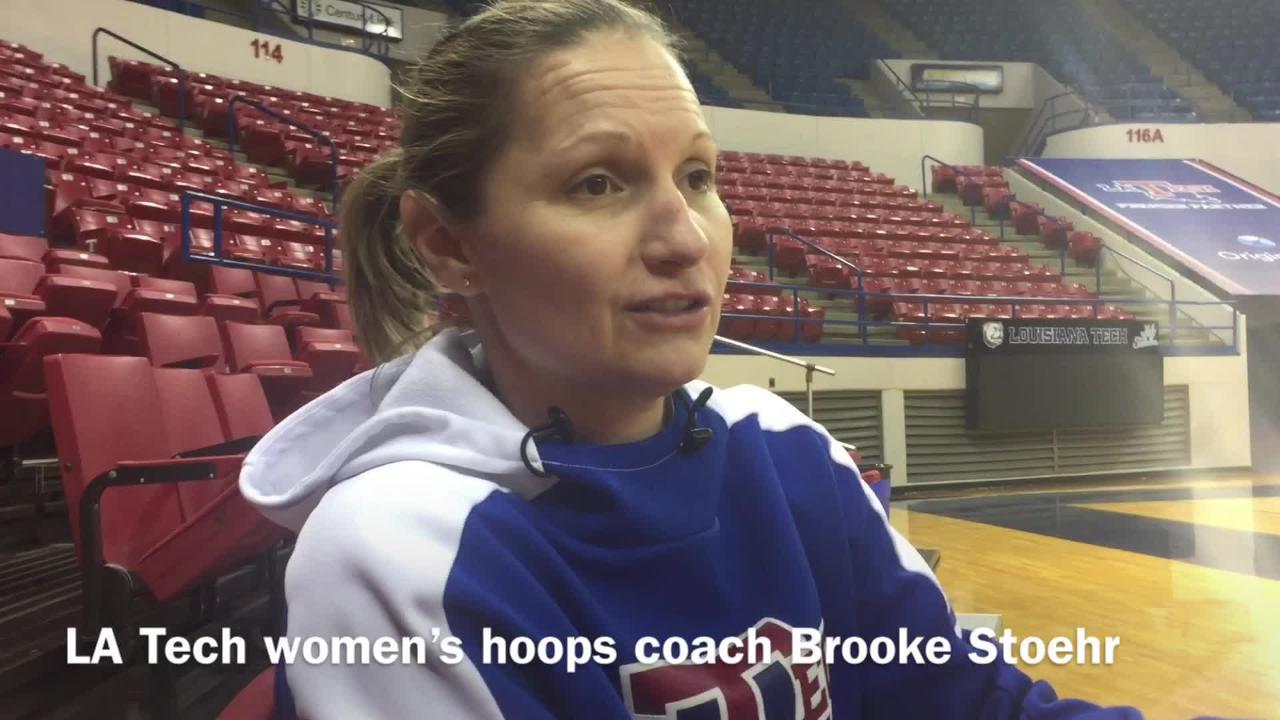Louisiana Tech women's basketball coach Brooke Stoehr discusses how she's seen guard Kierra Anthony transform this season.