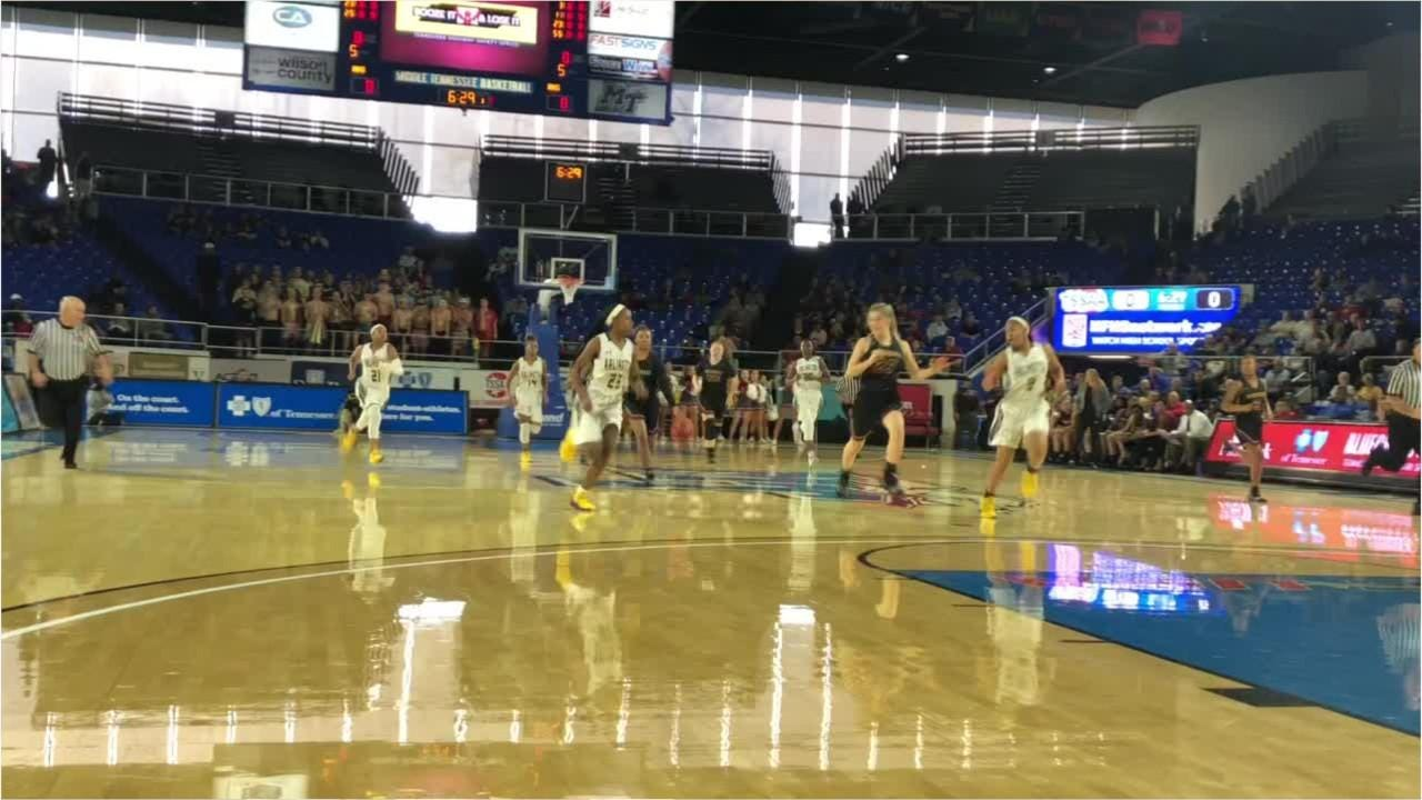 Highlights of Riverdale's 67-50 win over Arlington in the Class AAA state quarterfinals Wednesday.