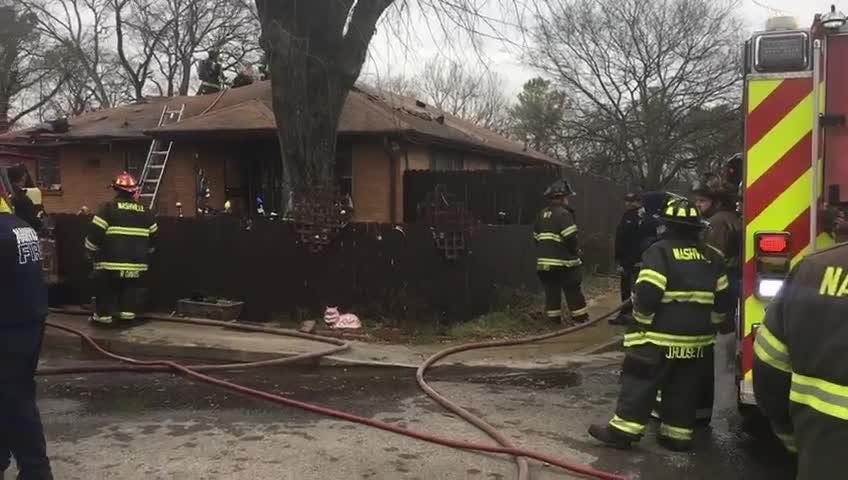 Nashville firefighters respond to daycare fire