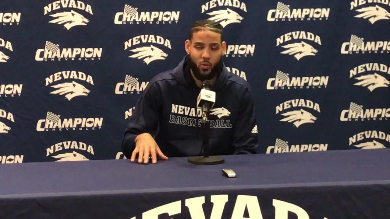 Nevada senior guard Caleb Martin talks about playing on Senior Night against San Diego State.