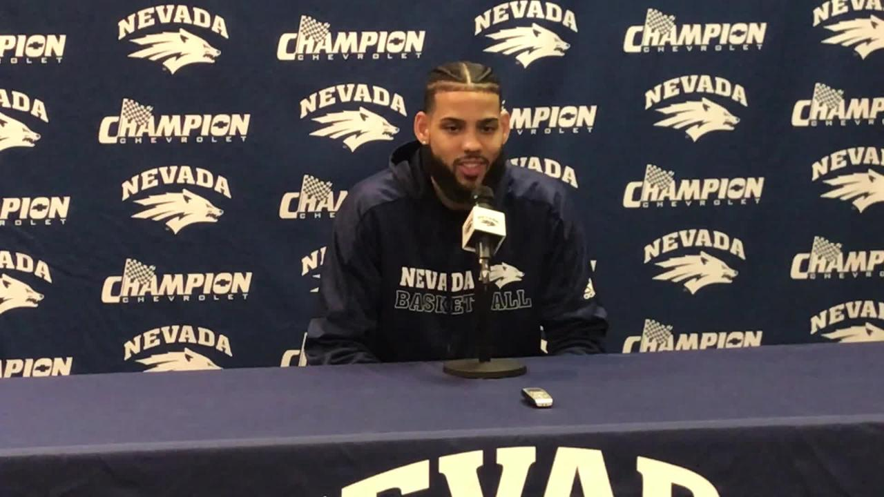 Nevada guard Cody Martin is one of seven seniors who will play a final game at Lawlor Events Center on Saturday.