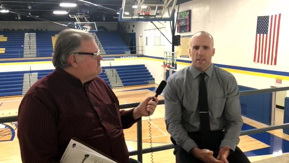 The featured guest for this week's SCTimes Sports Report is Cathedral head boys basketball coach Matt Meyer.