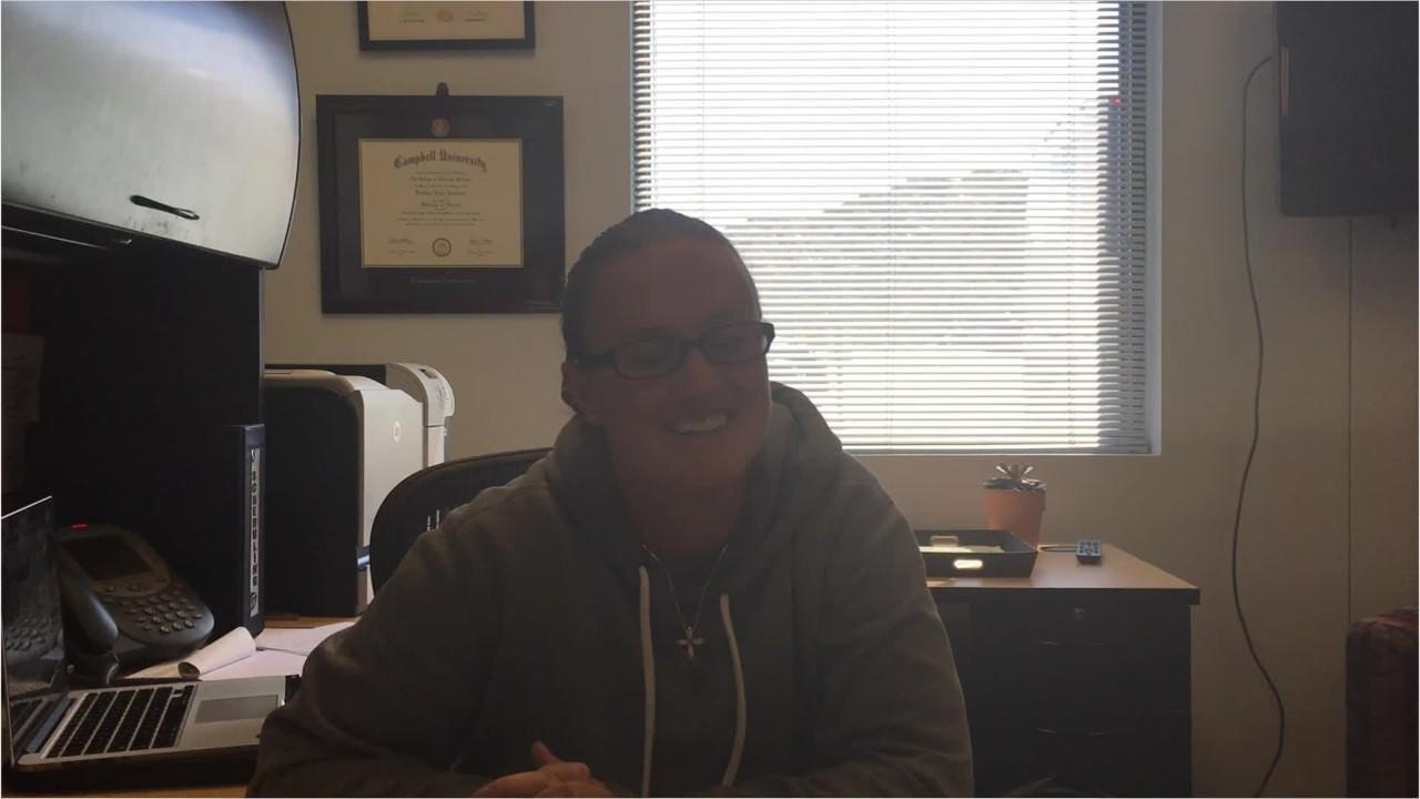 Video: UTEP soccer coach Kathryn Balogun