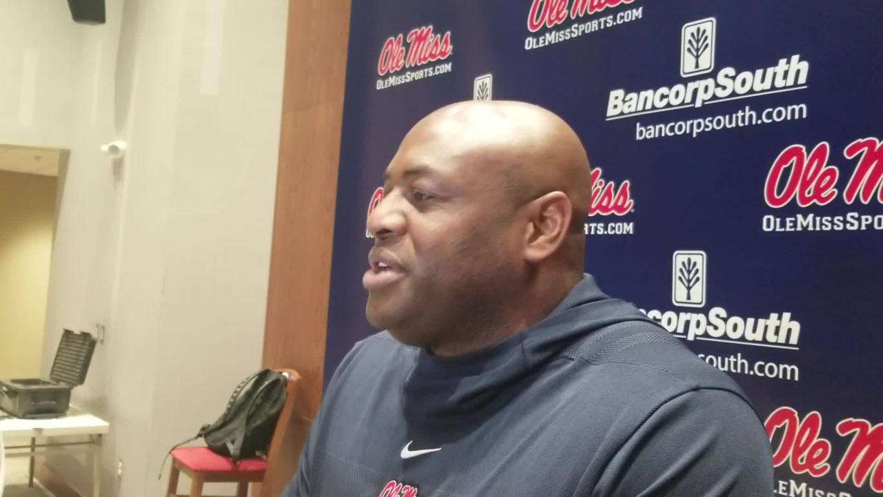 New Ole Miss outside linebackers coach Tyrone Nix talks about why he chose to return to Ole Miss, where he was once the defensive coordinator.