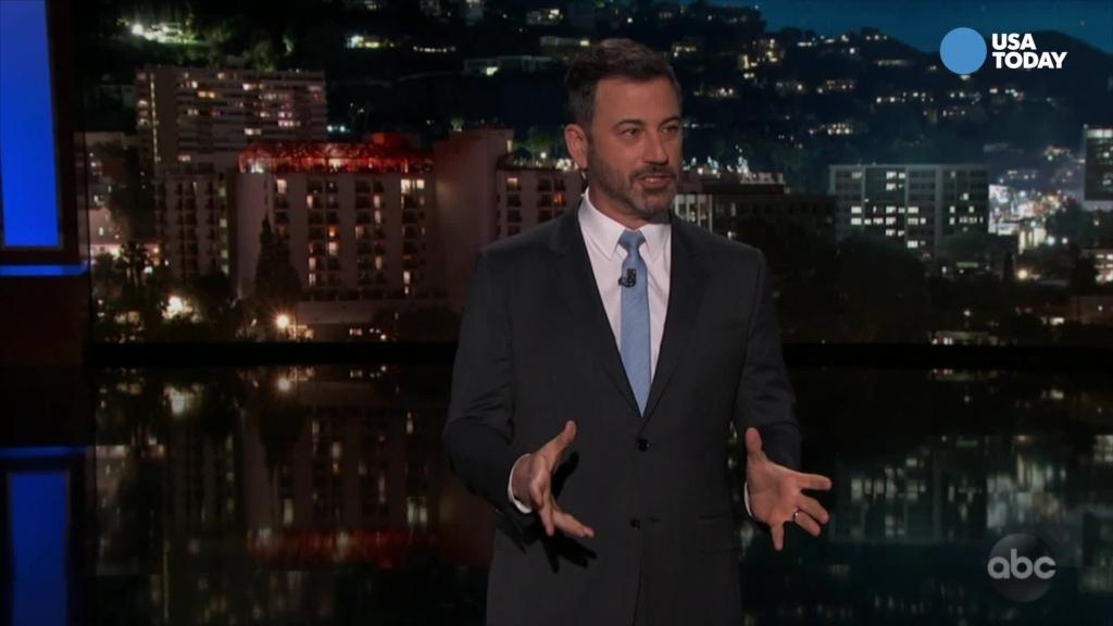 Kimmel says a little prayer for Manafort (and R. Kelly)