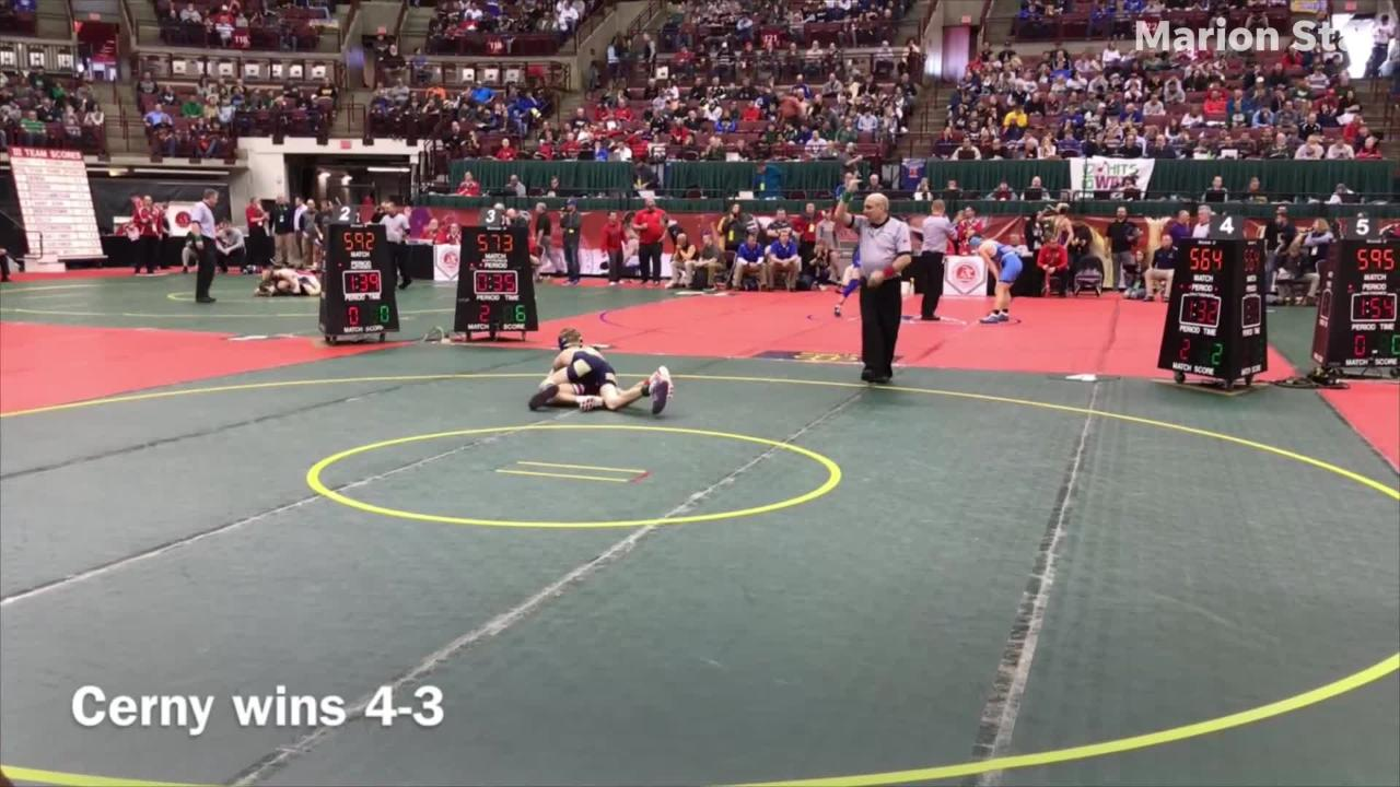 State Wrestling Friday highlights