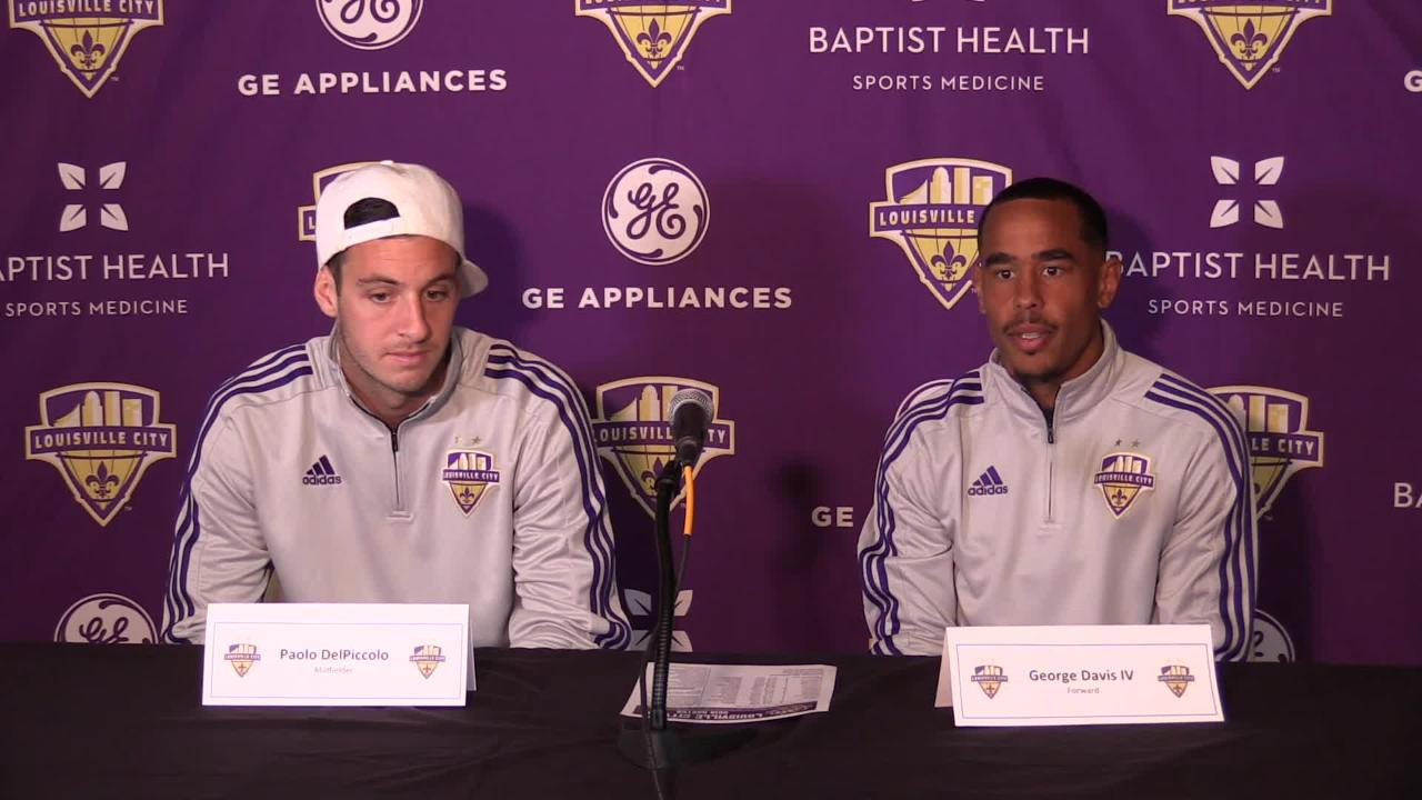 Paolo DelPiccolo, George Davis IV are ready for Louisville CIty FC's season