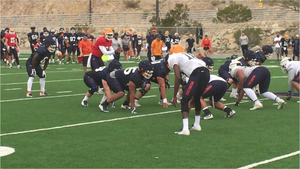 UTEP spring: Tight ends