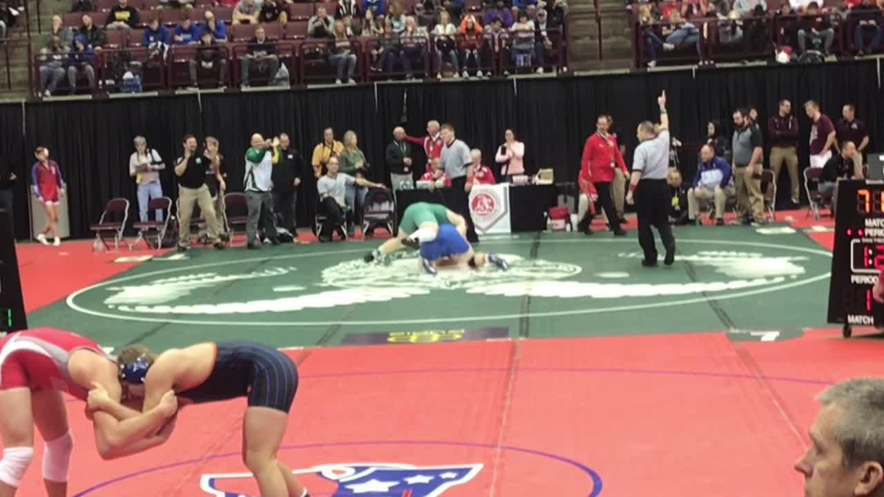 Newark Catholic's J.T. Brown and Liam Kirkpatrick, Northridge's Klay Reeves, Licking Valley's Dylan Dodson and Watkins Memorial's Cole Foor won Friday.