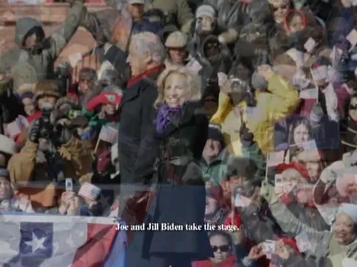 Archive: Obama and Biden on whistle stop to inauguration
