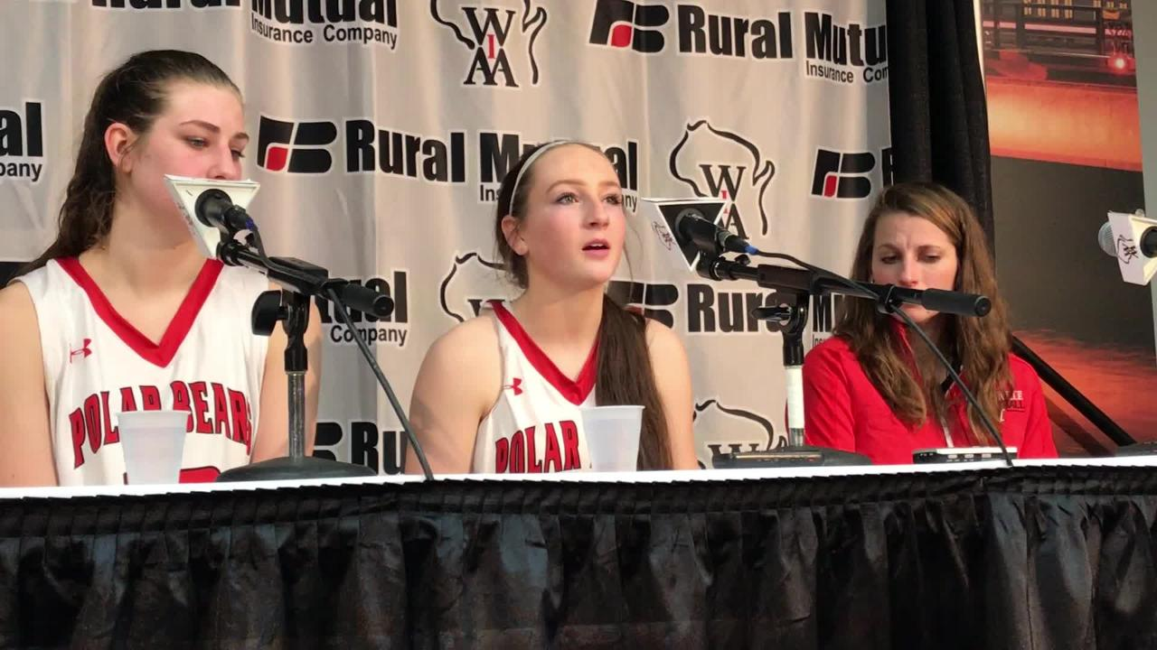 Hortonville senior Emily Nelson talks about how special it has been for her to play in the Polar Bears basketball program.