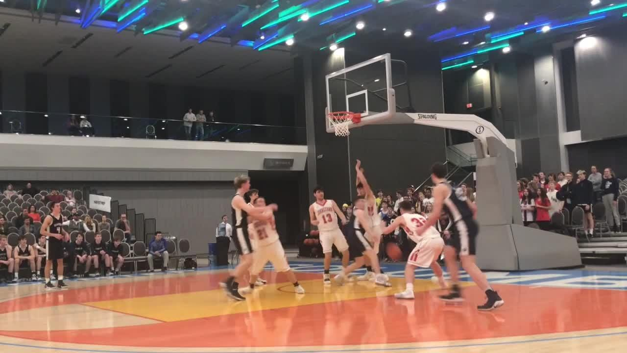 Grandview Heights overcame a 10-point third-quarter deficit to send Johnstown to its second consecutive Division III district runner-up finish.