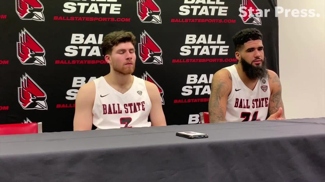 Tayler Persons and Trey Moses discuss their final home game.