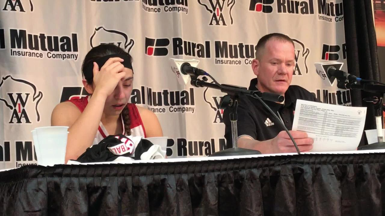 Kimberly coach Troy Cullen talks about Friday's WIAA state semifinal loss to Bay Port