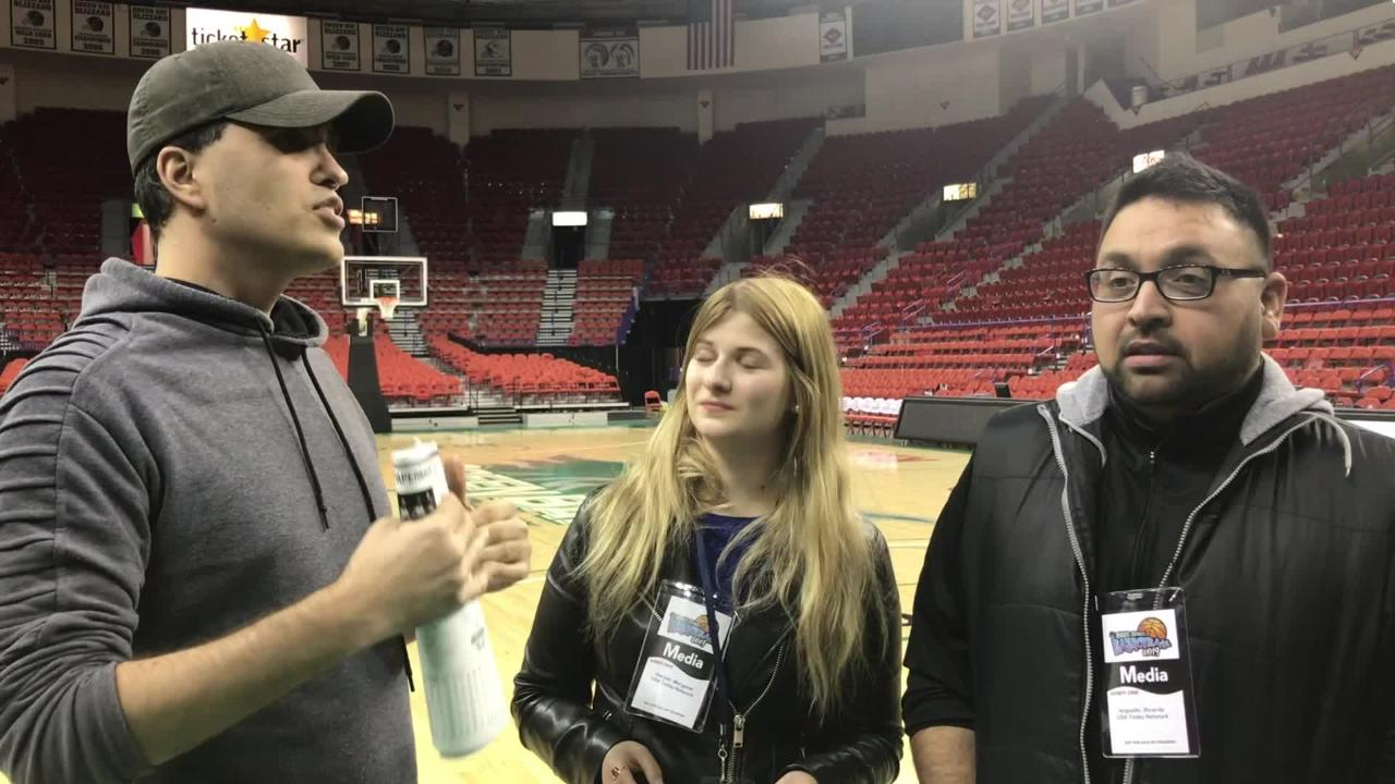 Sports reporters Margaret Naczek, Ricardo Arguello and Scott Venci preview the Division 1 state championship game between Bay Port and MIddleton.