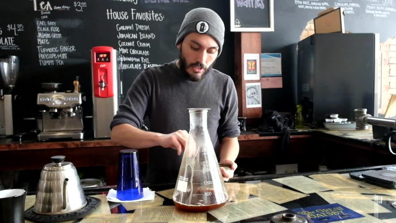Watch Josh from The Crafted Bean make a Smoking Gun