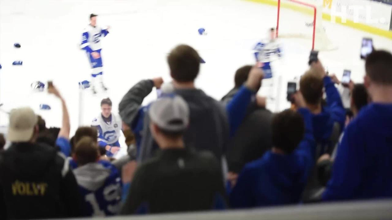 Count down the final seconds to CC's state final hockey championship. Detroit Catholic Central beat Saginaw Heritage 3-1 on March 9 at USA Hockey.