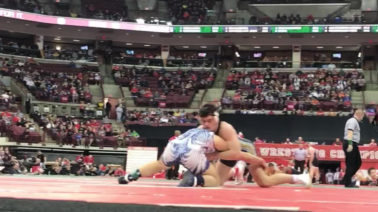 Northmor junior Conor Becker becomes school's fifth state champ with a second period oin