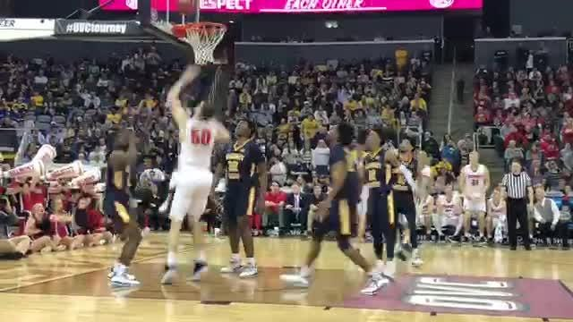 Murray State defeated Belmont 77-65 Saturday in the championship game of the Ohio Valley Conference Tournament at the Ford Center in Evansville.