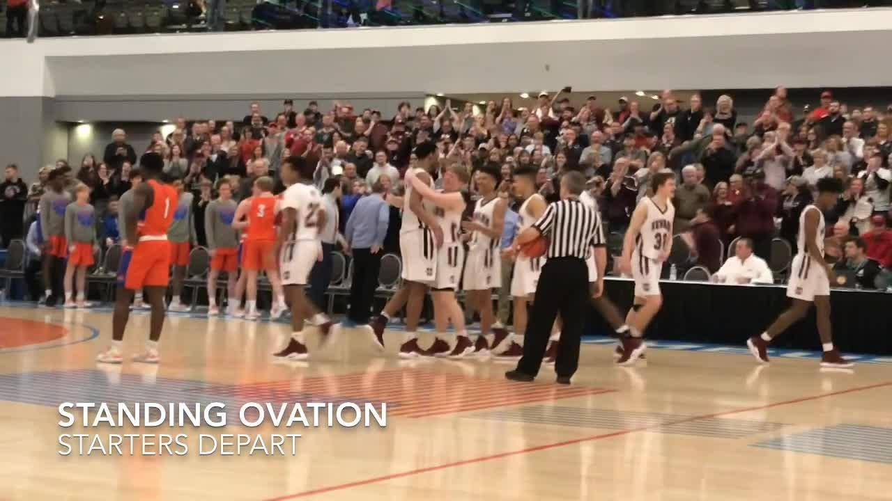 Newark's boys won their first Division I district title since 2015 with a 64-53 win against Olentangy Orange at the Columbus Convention Center.