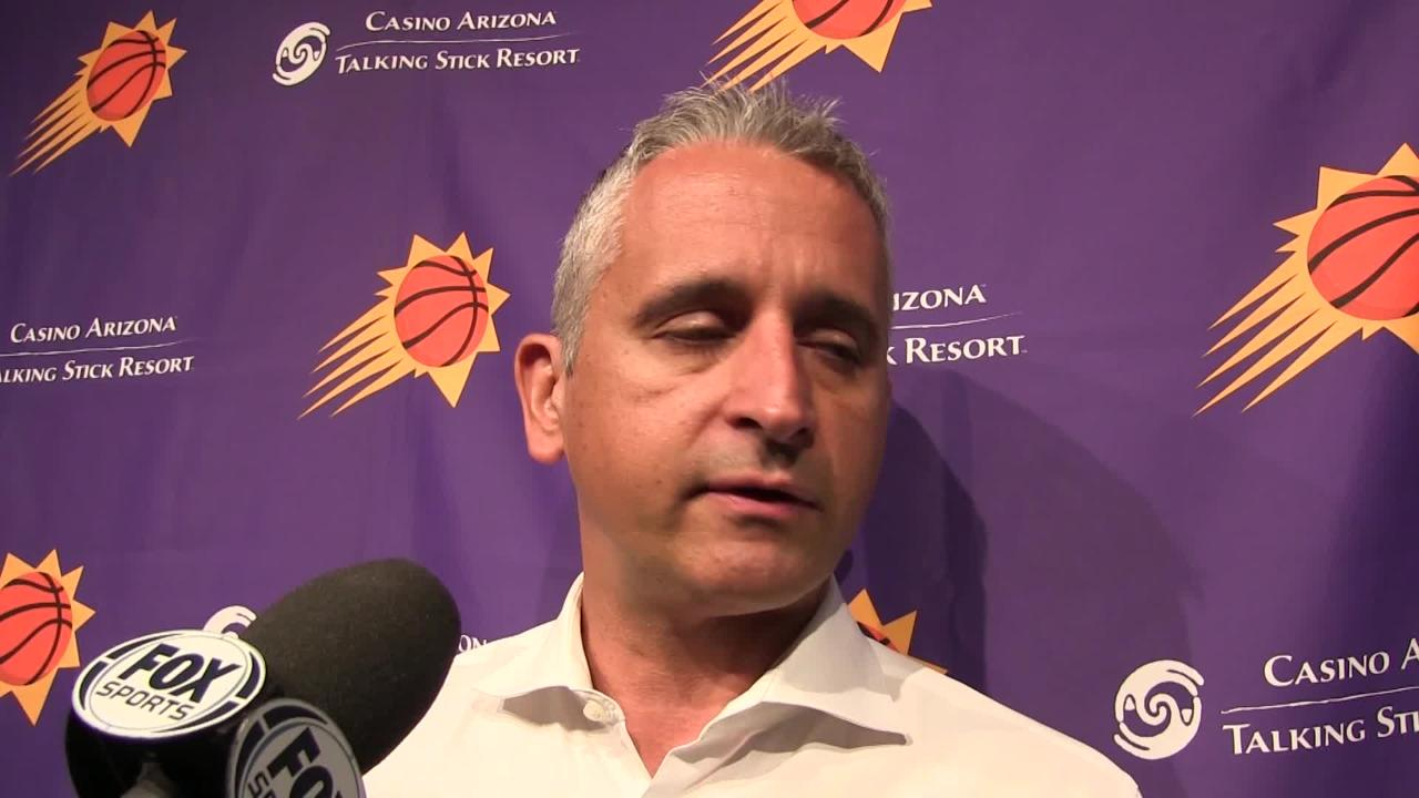 Phoenix Suns coach Igor Kokoskov and players Devin Booker, Mikal Bridges and Kelly Oubre Jr. talk about Saturday's loss at Portland and Sunday's game at Golden State.