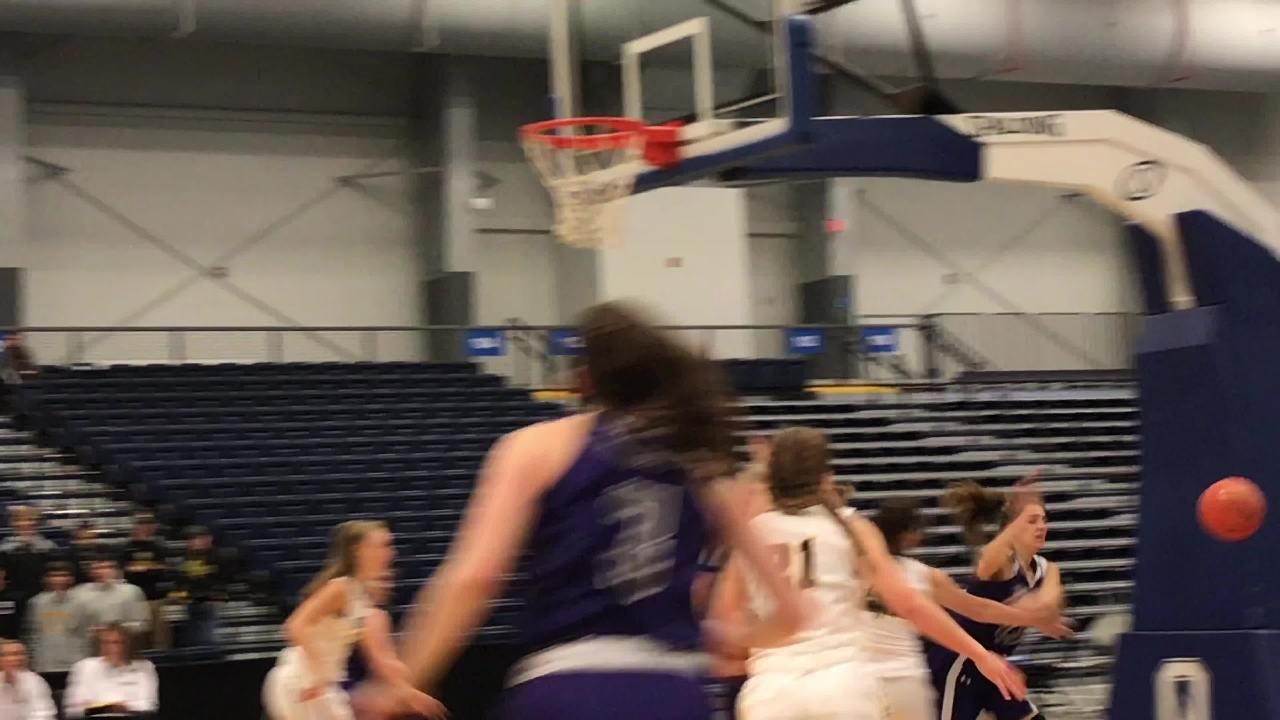 Norwich faced considerable resistance around the rim against South Jefferson during a Class B state semifinal Saturday at OCC.