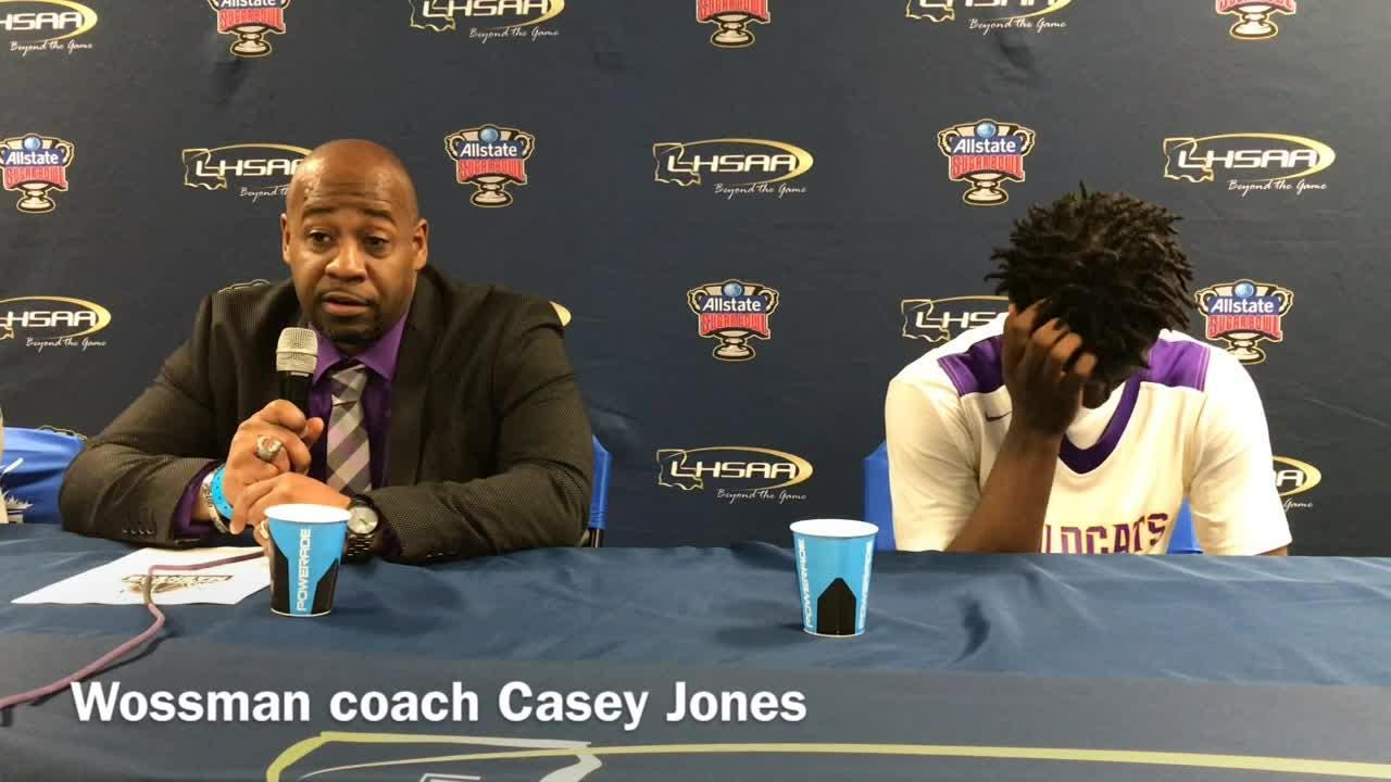 Wossman fell to Madison Prep in the Class 3A state championship game on Saturday at Burton Coliseum in Lake Charles.