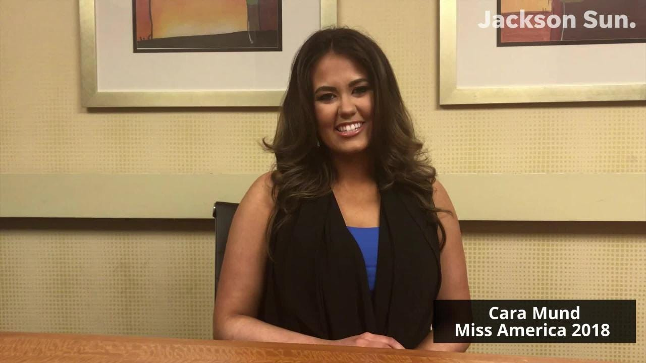 Miss America 2018 Cara Mund stops in Jackson for Miss
