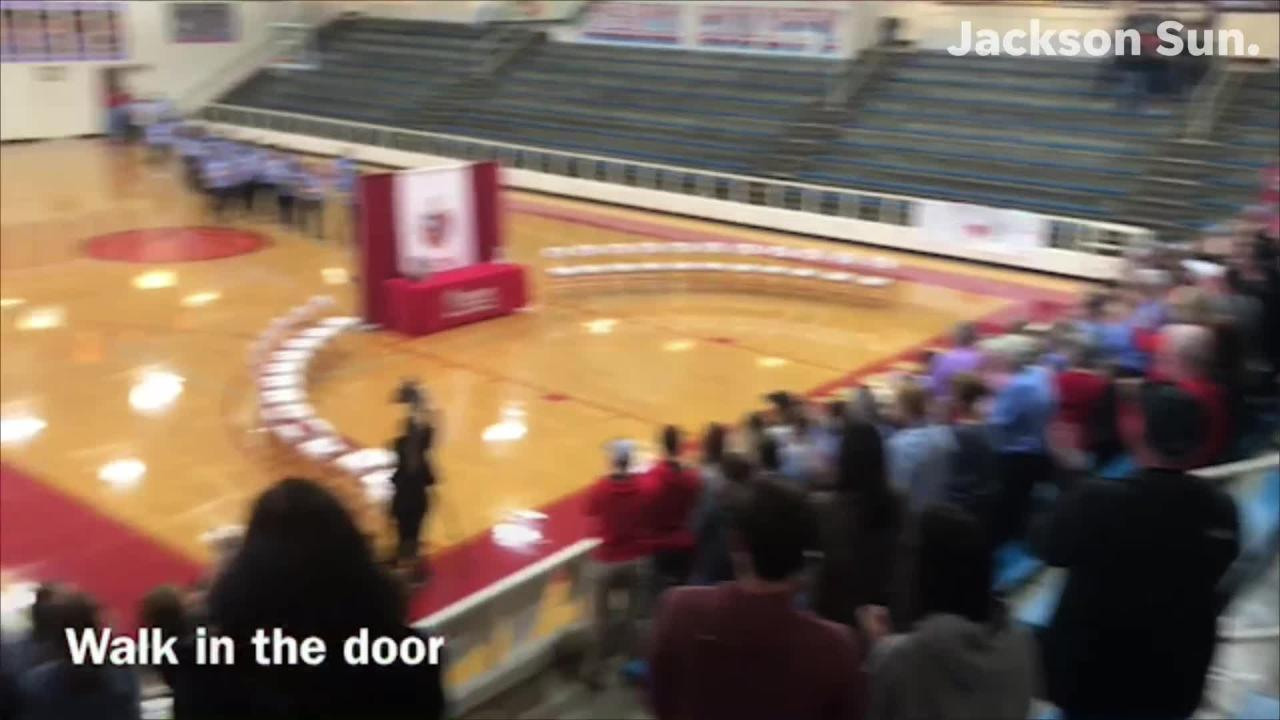 Sights and sounds from Gibson County High School's celebration of its girls basketball state championship.