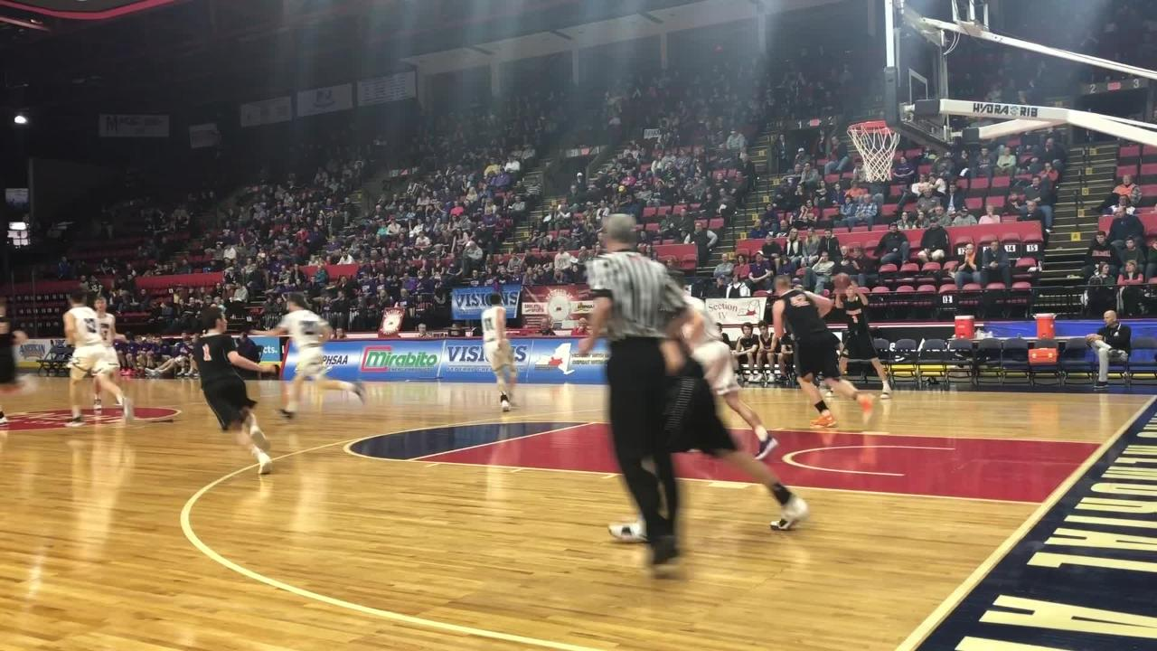 Highlights from Cooperstown's 61-46 win over Unadilla Valley in a Class C boys basketball state quarterfinal March 10, 2019 in BInghamton.