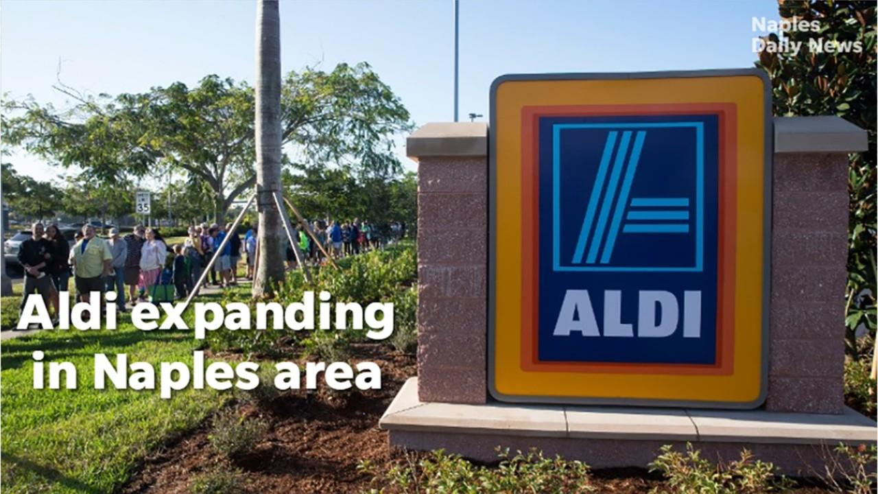 The third Aldi grocery store in Collier County will open this summer in East Naples.