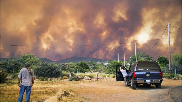 Scenes from the Goodwin Fire in Arizona