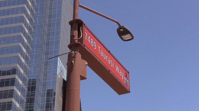Phoenix renames 1st street in honor of Diana Taurasi