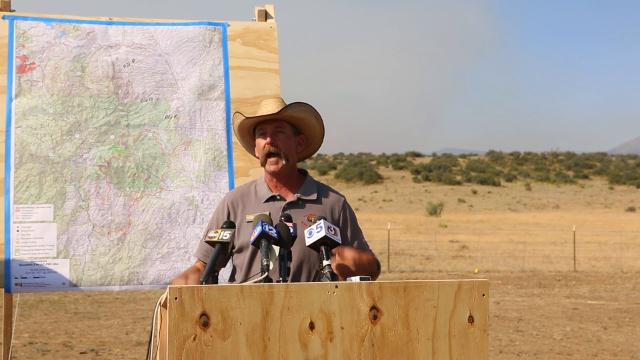 Goodwin Fire: Mayer evacuation lifted