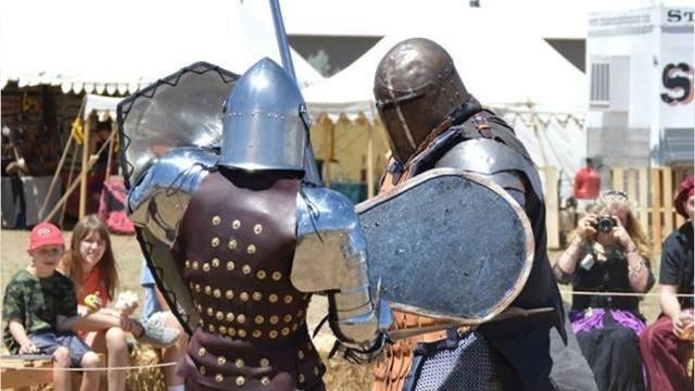 Codpieces on! It's time for Medieval Mayhem Renaissance Faire