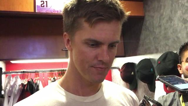 Zack Greinke on his effective outing vs. Rockies