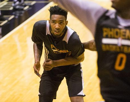 Phoenix Suns forward/guard Derrick Jones Jr. talks about returning to Las Vegas, where he played at UNLV, for the Summer League after practice on Wednesday. Michael Chow/azcentral sports