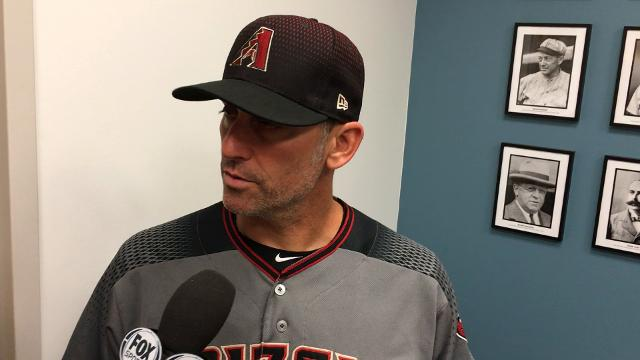 Torey Lovullo after Dodgers sweep D-Backs in LA
