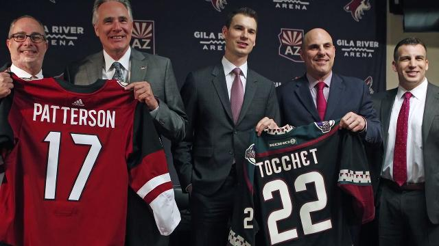 azcentral sports columnist Greg Moore and Sarah McLellan on the Coyotes' changes on and off the ice.