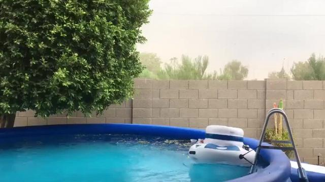 Images from Friday's Phoenix-area storm
