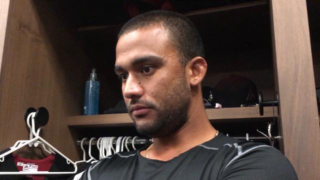 Randall Delgado on Braves' four-run, go-ahead rally